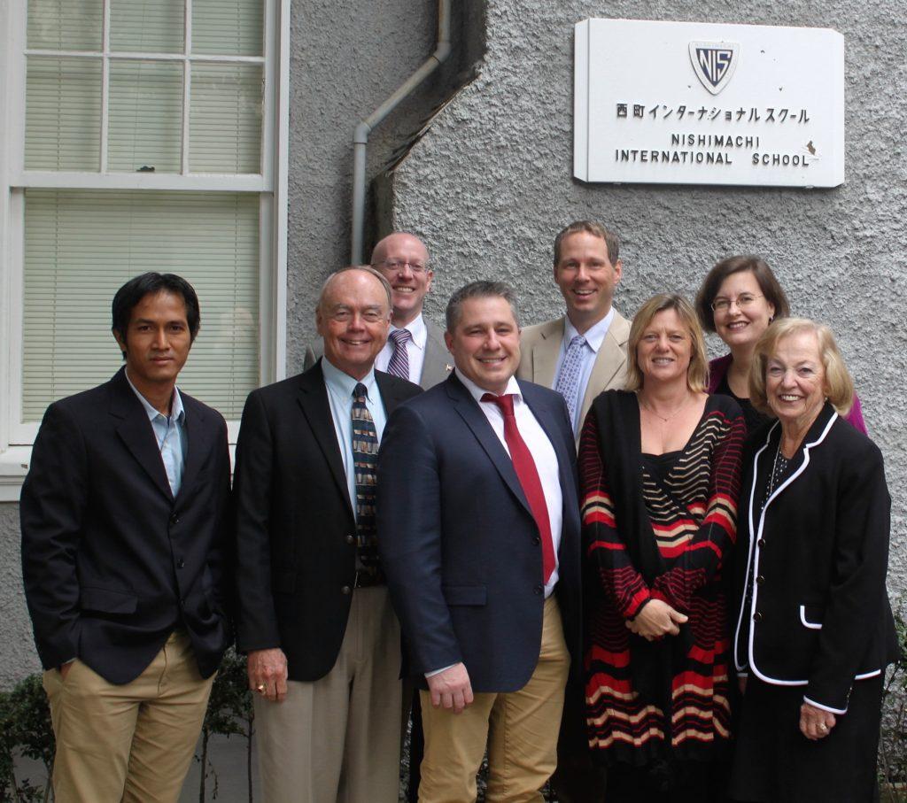 October 2015, Nishimachi School, Tokyo, Japan. CIS/WASC visiting team.